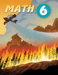 DCA - Math 6 Student Text (3rd ed.; copyright update)