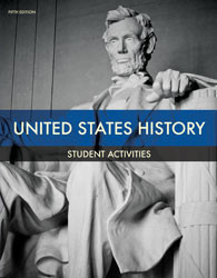 DCA - United States History Student Activities Manual (5th ed.)