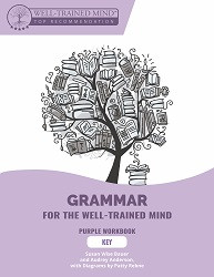 Grammar for the Well Trained Mind - Purple Key