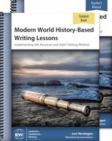 Modern World History-Based Writing Lessons Combo