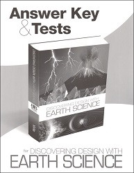 Discovering Design with Earth Science Answer Key and Tests