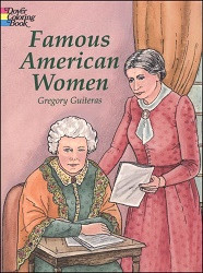 Famous American Women Coloring Book