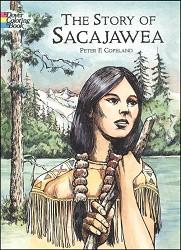 Story of Sacajawea Coloring Book