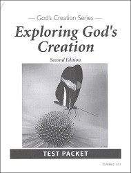Exploring God's Creation Test 2nd Edition