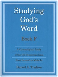 Studying God's Word Book F