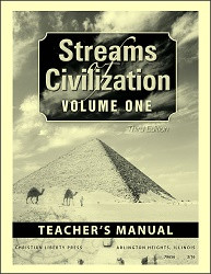 Streams of Civilization 1 3rd Edition Teacher's Manual