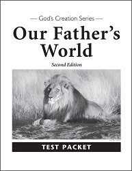Our Father's World Test 2nd Edition