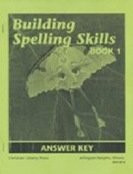 Building Spelling Skills Book 1 Answer Key