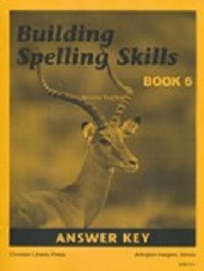 Building Spelling Skills Book 6 Answer Key