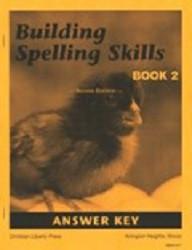 Building Spelling Skills Book 2 Answer Key