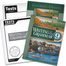 Writing and Grammar 9 Subject Kit