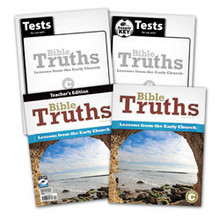 Bible Truths Level C: Lessons from the Early Church Subject Kit (4th edition)