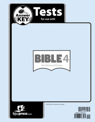 Bible 4 The Pathway of Promise Test Answer Key