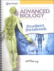 Apologia Exploring Creation with Advanced Biology - Human Body Student Notebook