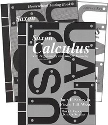 Saxon Math Calculus Kit (2nd Edition)