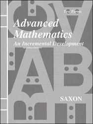 Saxon Math Advanced Math Test Booklet (2nd Edition)