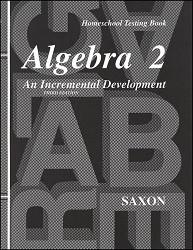 Saxon Math Algebra 2 Test Booklet (3rd Edition)