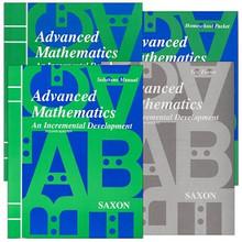 Saxon Math Advanced Math Kit w/Solution (2nd Edition)