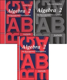 Saxon Math Algebra 2 Kit w/Solution (3rd Edition)