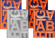 Saxon Math Algebra 1 Kit w/Solution (3rd Edition)