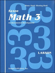 Saxon Math 3 Meeting Book (1st Edition)
