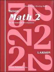 Saxon Math 2 Meeting Book (1st Edition)