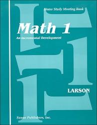 Saxon Math 1 Meeting Book (1st Edition)