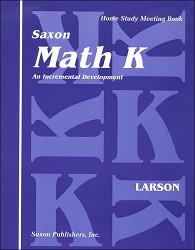 Saxon Math Kindergarten Meeting Book