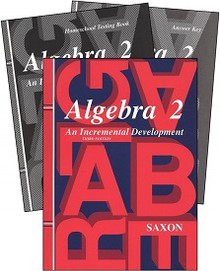 Saxon Math Algebra 2 Kit (3rd Edition)