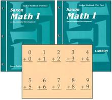 Saxon Math 1 Workbooks (1st Edition)