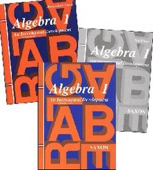 Saxon Math Algebra 1 Kit (3rd Edition)
