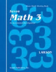 Saxon Math 3 Set (1st Edition)