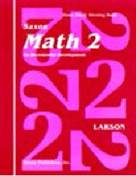 Saxon Math 2 Set (1st Edition)