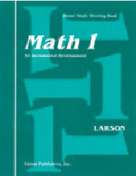 Saxon Math 1 Set (1st Edition)