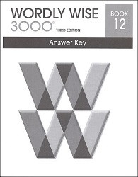 Wordly Wise 3000 Grade 12 Key