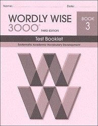 Wordly Wise 3000 Grade  3 Test