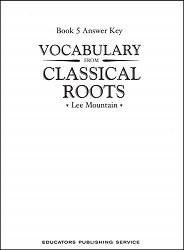 Vocabulary from Classical Roots 5 Key
