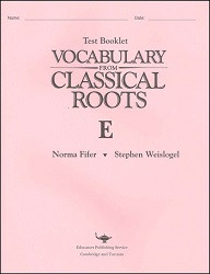 Vocabulary from Classical Roots E Test