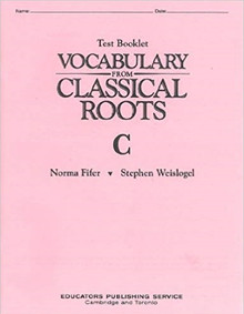Vocabulary from Classical Roots C Test