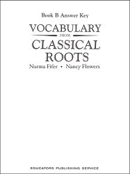 Vocabulary from Classical Roots B Key