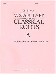 Vocabulary from Classical Roots A Test