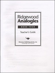 Ridgewood Analogies Book 4 Key