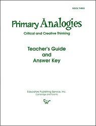 Primary Analogies Book 3 Key