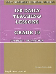 Easy Grammar Ultimate Series Grade 10 Workbook