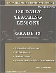 Easy Grammar Ultimate Series Grade 12