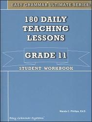 Easy Grammar Ultimate Series Grade 11 Workbook