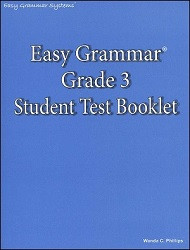 Easy Grammar 3 Test