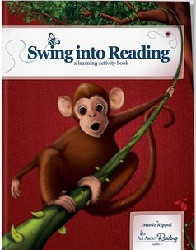 "All About Reading Level 3 ""Swing into Reading"" Colorized Activity Book Only"