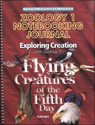 Apologia Exploring Creation with Zoology 1 - Flying Creatures of the Fifth Day Notebooking Journal