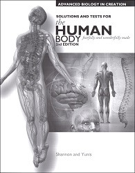 Apologia Exploring Creation with Advanced Biology -  Human Body Solution/Tests *2nd Edition*